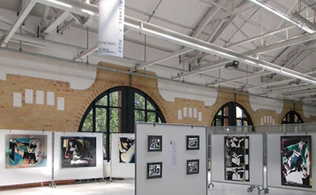 Booth of Michael A. Russ at 'The Browse Foto Festival' Berlin